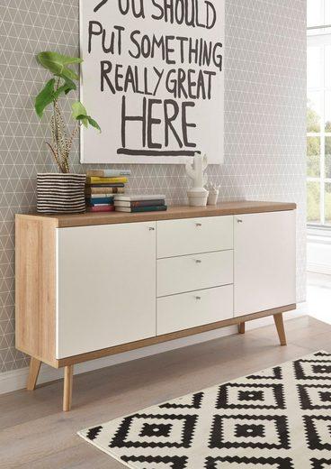 andas Sideboard »Merle« im skandinavischen Design, Breite 160 cm