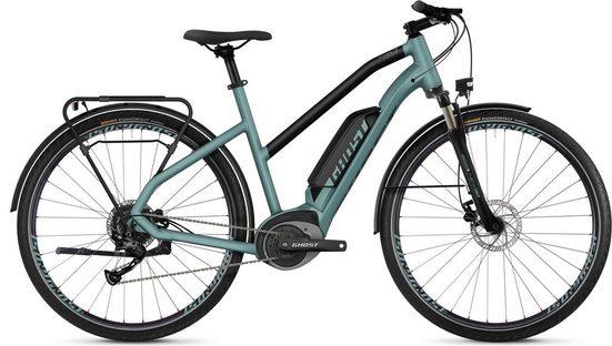 Ghost E-Bike »Hybride Square Trekking B1.8 AL W«, 9 Gang Shimano Altus RD-M2000 9-S Schaltwerk