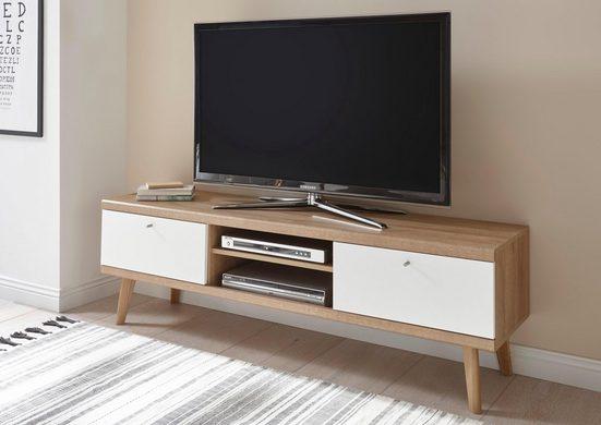 andas Lowboard »Merle«, im skandinavischen Design, Breite 160 cm