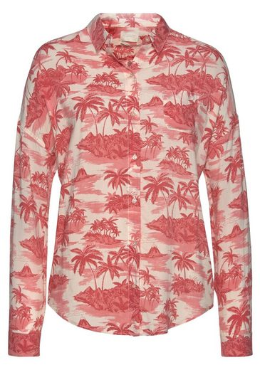 amp; Im Trendy look Hemdbluse Soda Scotch Hawai USfxgf6