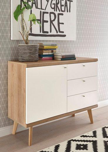 andas Sideboard »Merle«, im skandinavischen Design, Breite 107 cm