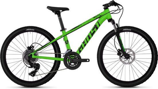 Ghost Mountainbike »Kato D4.4 AL U«, 16 Gang Shimano Tourney TX RD-TX800 8-S Schaltwerk