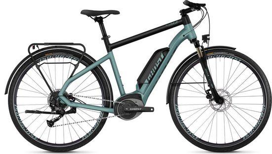 Ghost E-Bike »Hybride Square Trekking B1.8 AL U«, 9 Gang Shimano Altus RD-M2000 9-S Schaltwerk