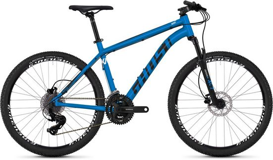 Ghost Mountainbike »Kato 1.6 AL U«, 24 Gang Shimano Tourney TX RD-TX800 8-S Schaltwerk
