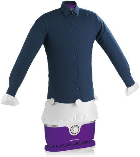 CLEANmaxx Bügelsystem Bügler für Hemden & Blusen + Bügler-Aufsatz für Hosen, 1800 W