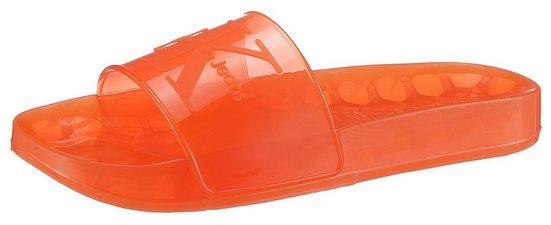 Calvin Klein »Elva« Badepantolette mit breiter Bandage