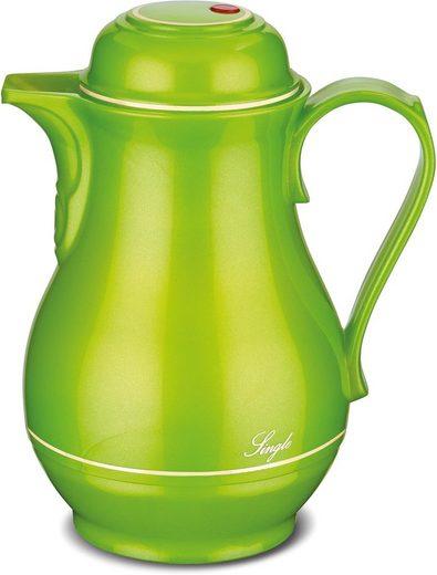 ROTPUNKT Isolierkanne »Shiny Pear«, 0,5 l, mit goldfarbener Umrandung