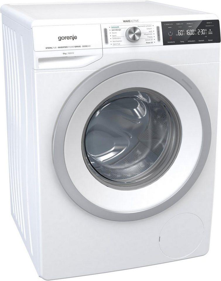 gorenje waschmaschine wa 966 t 9 kg 1600 u min otto. Black Bedroom Furniture Sets. Home Design Ideas