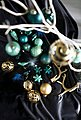 MAGIC by Inge Weihnachtsbaumkugel »Magic - Green Velvet« (36 Stück), Bild 2