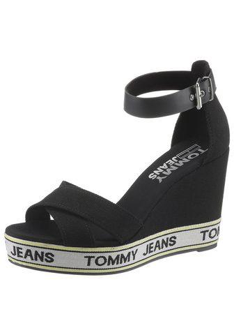 TOMMY JEANS TOMMY Džinsai Aukštakulniai sandalai »...