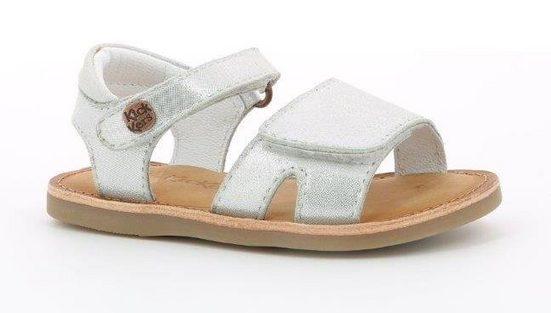 Kickers »Divimoi« Sandale in modischer Metallic-Optik
