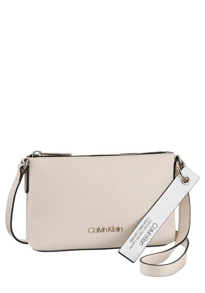 Damen Calvin Klein Umhängetasche mit abnehmbarem Logoanhänger    08719115754518