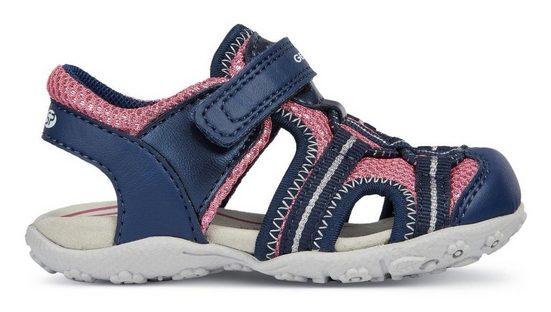 Geox Kids »B Sandal Roxanne« Sandale mit praktischem Klettverschluss