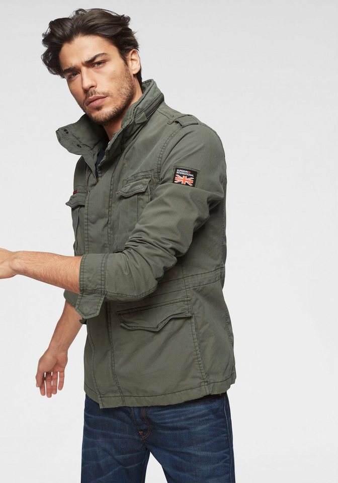 superdry fieldjacket online kaufen otto. Black Bedroom Furniture Sets. Home Design Ideas