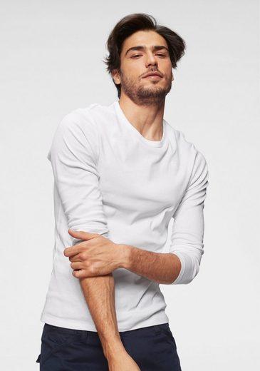 G-Star RAW Langarmshirt Basic-Artikel aus blickdichter, hochwertiger Baumwollqualität