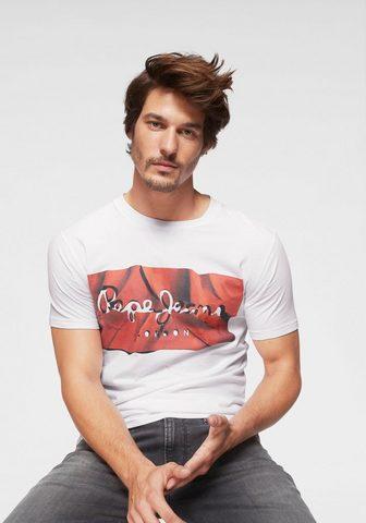 PEPE JEANS Pepe Džinsai Marškinėliai »Raury«