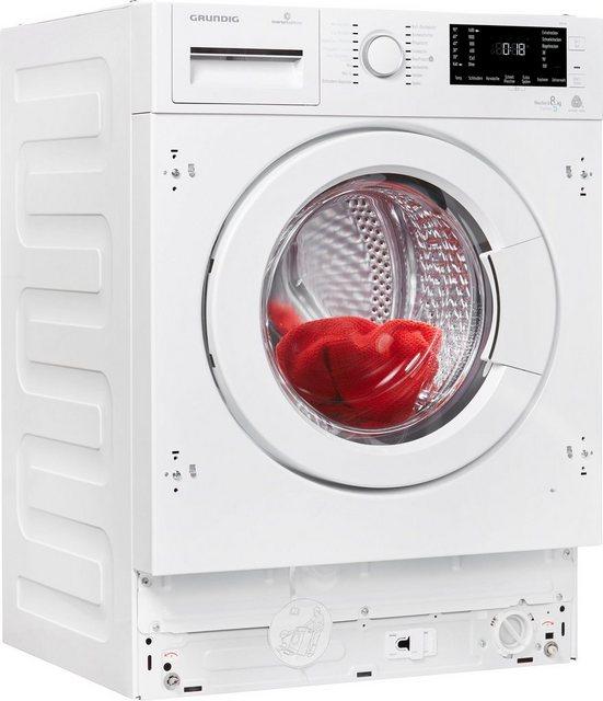 Grundig Einbauwaschtrockner GWDI 854| 8 kg/5 kg| 1400 U/Min | Bad > Waschmaschinen und Trockner > Waschtrockner | Grundig