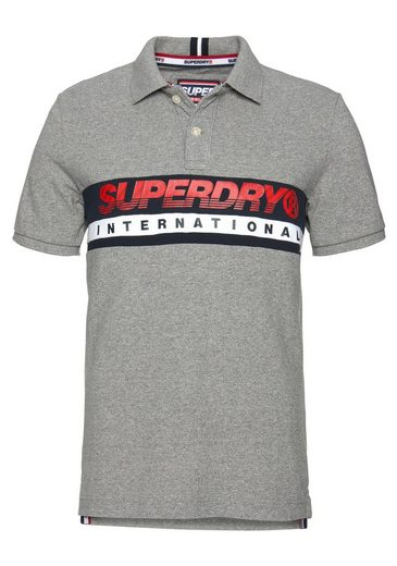 Chest Superdry Polo« »international Band Poloshirt 78A8OwRqF