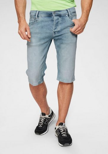 Pepe Jeans Jeansshorts »SPIKE« in trendiger Waschung