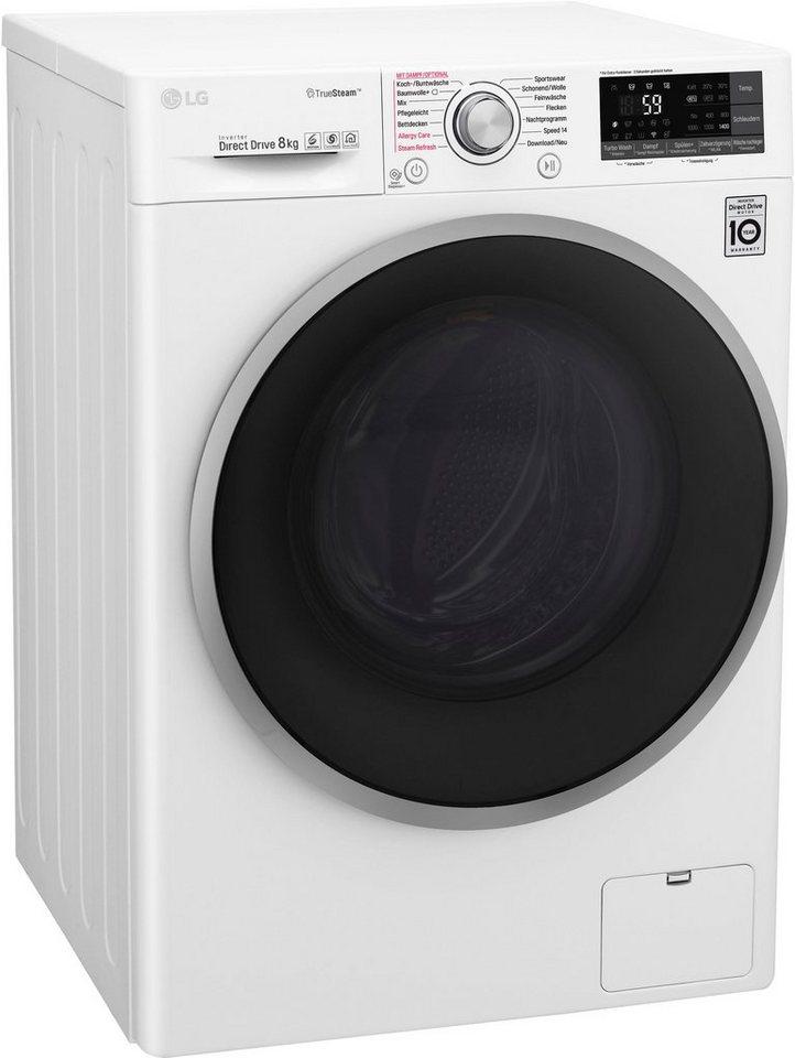 lg waschmaschine f 14wm 8tt1 8 kg 1400 u min otto. Black Bedroom Furniture Sets. Home Design Ideas