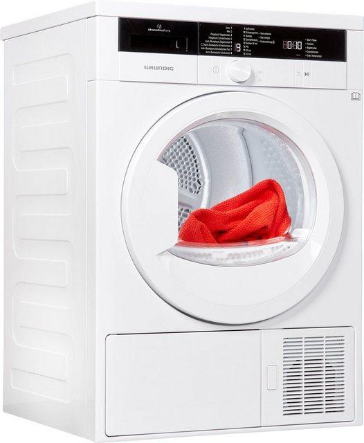 Grundig Wärmepumpentrockner GTN 28250 MG, 8 kg   Bad > Waschmaschinen und Trockner > Wärmepumpentrockner   Grundig