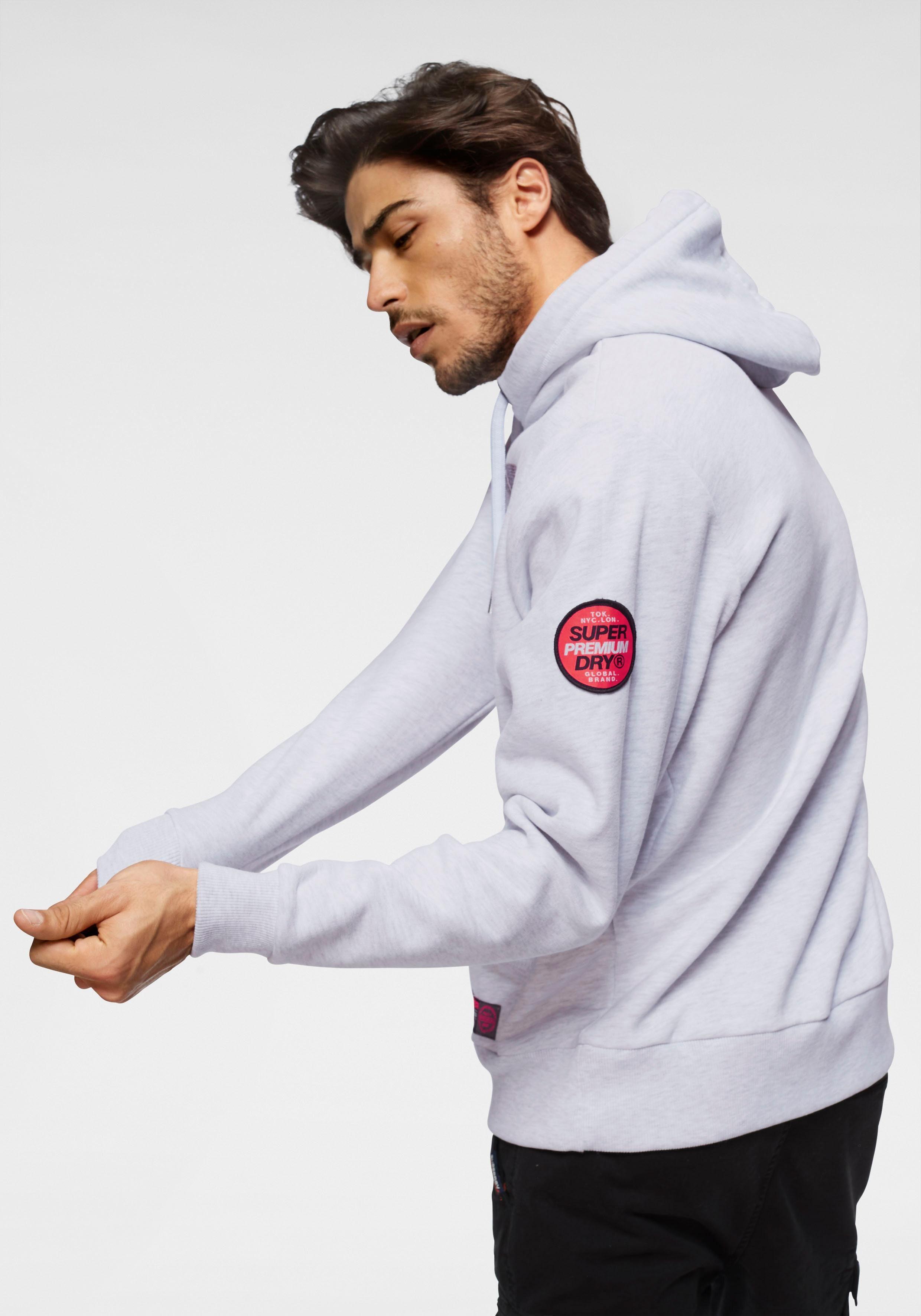 »reactive Superdry Kapuzensweatshirt »reactive Classic Kapuzensweatshirt Superdry Hood« PN8nXOkw0