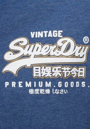 Superdry Ziphood« Superdry Kapuzensweatjacke Logo Ziphood« Kapuzensweatjacke Logo »vintage »vintage TUCUpqF
