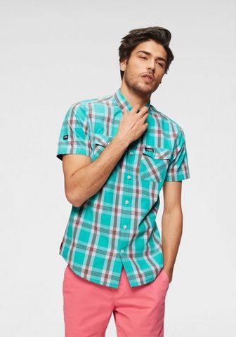 SUPERDRY Рубашка в клетку »WASHBASKET S/S...