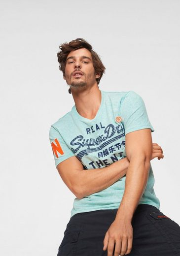 Superdry T-Shirt »VINTAGE AUTHENTIC PASTEL TEE«