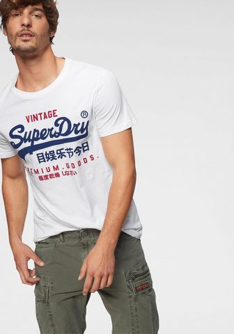 SUPERDRY Marškinėliai »PREMIUM GOODS dvi LITE T...