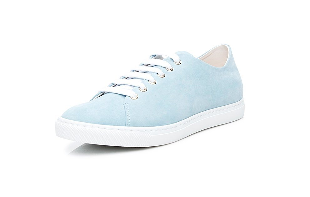 Damen SHOEPASSION No. 21 WS Sneaker Von Hand gefertigt 100 % Made in the EU blau | 04251194707589