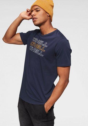 O'Neill T-Shirt »TRIPLE LOGO O'NEILL SHIRT«