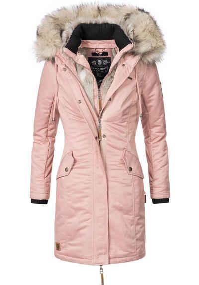 Altrosa farbener mantel