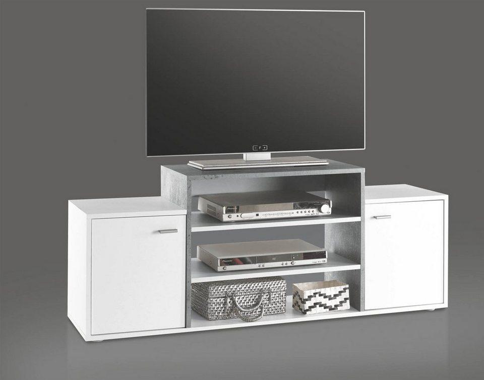 hti living lowboard space hochwertiges material online kaufen otto. Black Bedroom Furniture Sets. Home Design Ideas