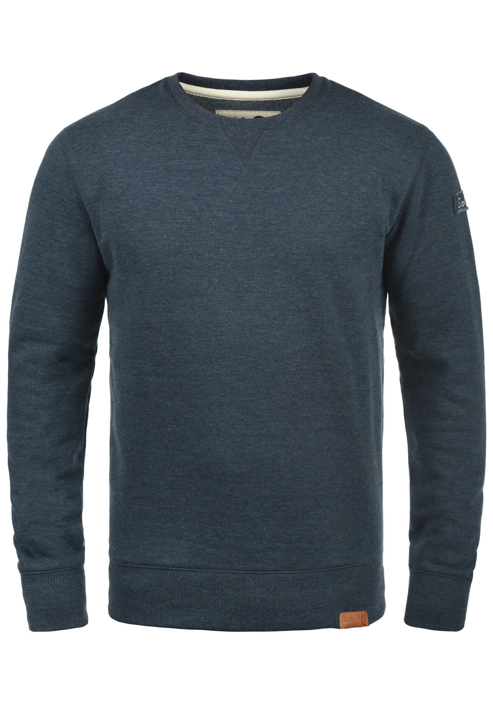Solid Sweatshirt »Trip O-Neck« Rundhalspullover mit Fleece-Innenseite