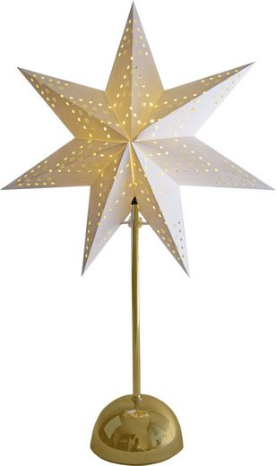 STAR TRADING Tischleuchte »Stern«, mit Timer