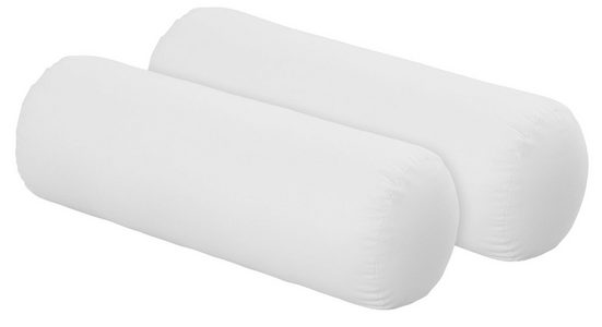 f.a.n. Schlafkomfort Nackenrolle »Kissenparade«, 1-tlg., Bezug: 100% Baumwolle, Füllung: 100% Polyester, die optimale Nackenrolle