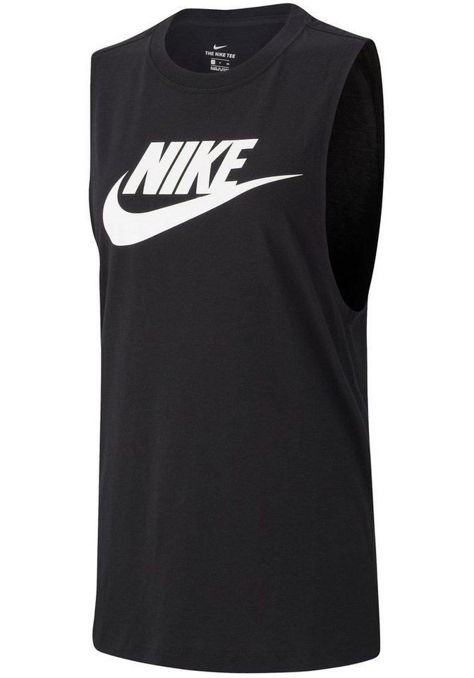 08a57edfd90f10 Nike Sportswear Tanktop »W NSW TANK ESSNTL MSCL FUTURA« online ...