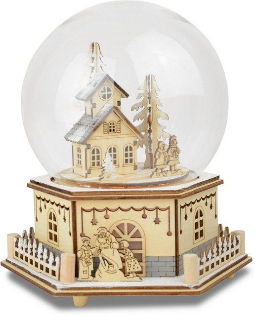 Spieluhr »Haus mit Kindern«, mit Glaskuppel | Kinderzimmer > Spielzeuge > Spieluhren | OTTO