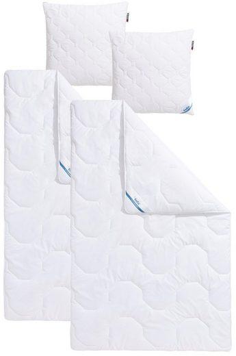 Kinderbettdecke + Kopfkissen, »Antibac«, Beco, Material Füllung: Kunstfaser, (Spar-Set), vom Institut Hohenstein geprüft, »Wirksam gegen Milben«-Siegel