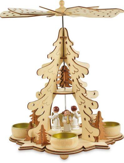 Weihnachtspyramide »Weihnachtsengel«