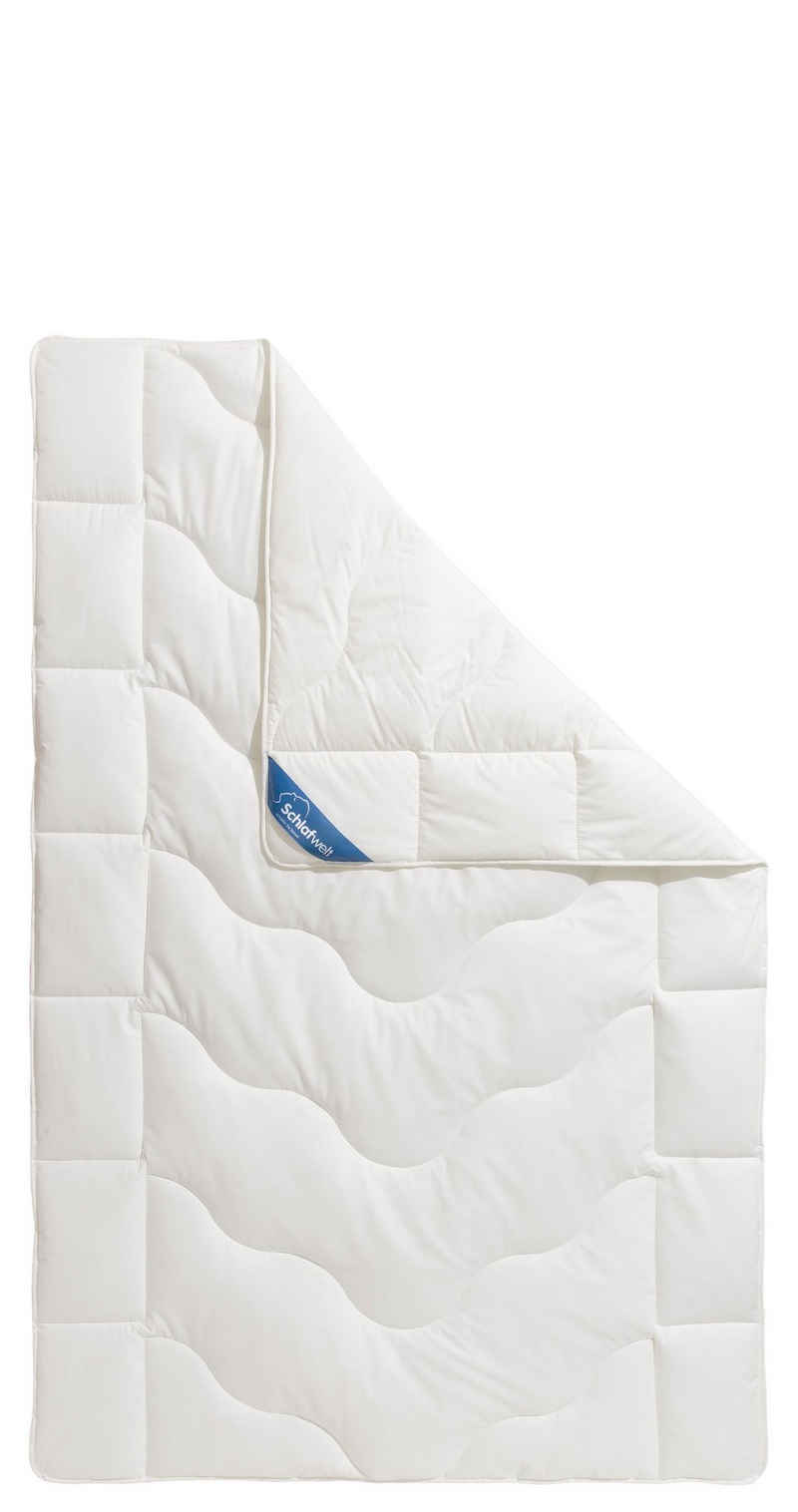 """Naturfaserbettdecke, »Tencel«, Schlafwelt, Füllung: Lyocell (Tencel) & Polyester, Bezug: Beste Klimatisierung und Nachhaltigkeit, Duo-Decke mit """"sehr gut getestet"""", Bezug aus Bio-Baumwolle"""
