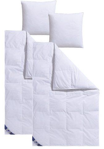 TRAUMECHT Antklodė su plunksnų užpildu + pagalvė...