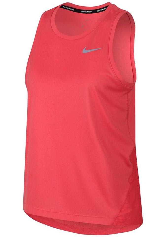 Nike Lauftop »W NK MILER TANK«   Sportbekleidung > Sporttops > Lauftops   Rot   Nike