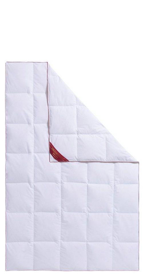 Daunenbettdecke Jule Hanse By Ribeco Leicht Fullung 90 Daunen 10 Federn Bezug 100 Baumwolle 1 Tlg Jubilaumsedition Online Kaufen