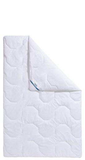 Kunstfaserbettdecke, »Antibac«, Beco, warm, Füllung: Polyester, Bezug: 100% Baumwolle, (1-tlg), TÜV »gut«* und von Hohenstein geprüfter Schutz vor Milben