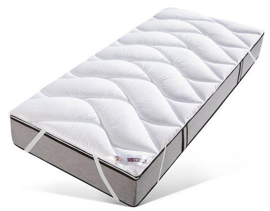 Matratzenauflage »Antibac«, my home, 3 cm hoch, Kunstfaser, einzeln oder im Spar-Set, kochfest bis 95 °C
