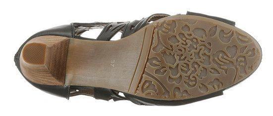 »alcbane« Cutouts Sandalette Feinen Laura Vita Mit 5zqFw7Ax