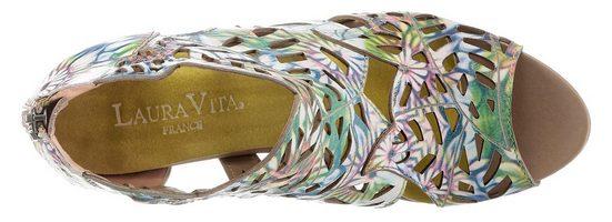 Mit »albane« Sandalette Vita Lasercut Laura tqRAw55x