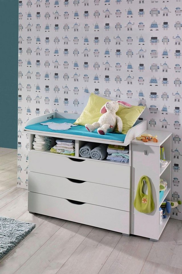 babym bel set bristol 2 tlg wickelkommode. Black Bedroom Furniture Sets. Home Design Ideas